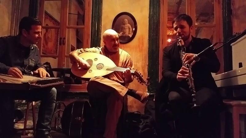 Secret Trio Hakim Bey Ismail Lumanovski Tamer Pinarbasi Ara Dinkjian Clarinet Taksim