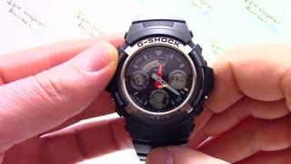 Часы Casio G-SHOCK AW-590-1A [AW-590-1AER] - Видео обзор от