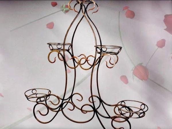 Ковка, Ковані підставки для квітів
