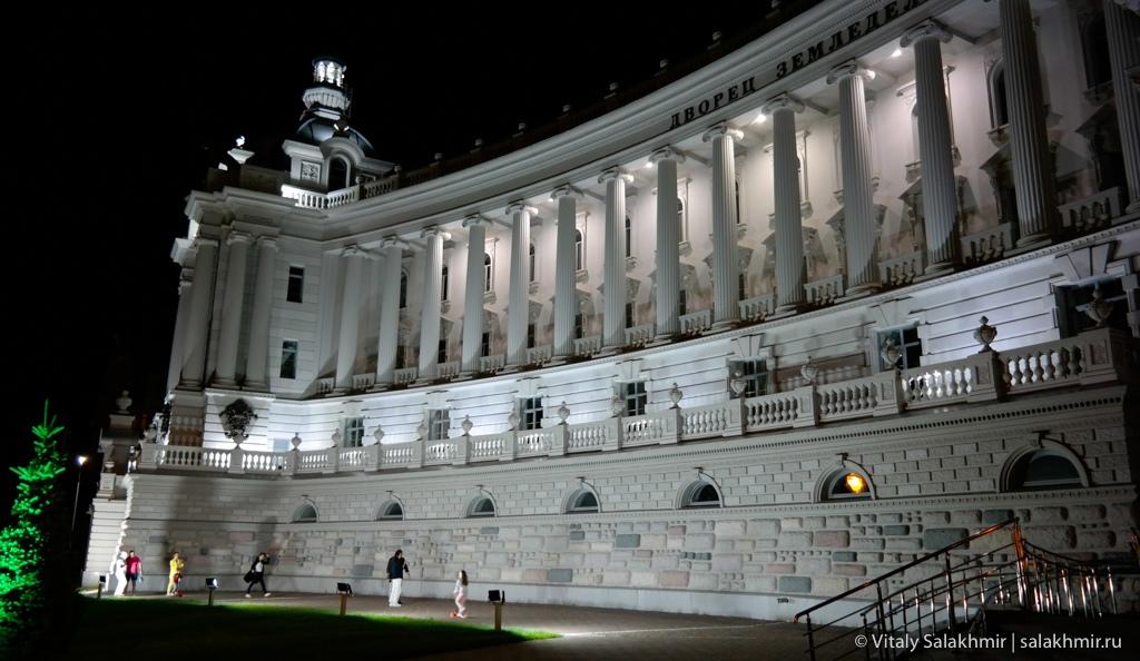 Здание дворца земледельцев, поехать в Казань 2020