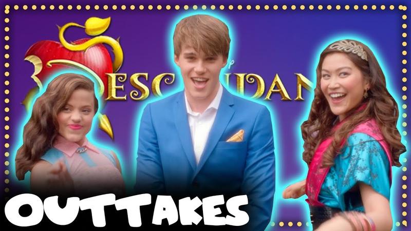 BTS Disney's Descendants Outtakes Pt 10 Mal Ben Audrey Jane Carlos Jay