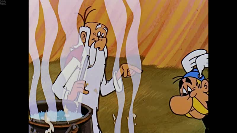 Астерикс из Галлии Astérix le Gaulois Asterix the Gaul 1967 1080p Перевод Дубляж Канал Gulli VHS