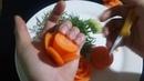 Clip hướng dẫn tỉa hoa hồng🌹. Bằng cà rốt 🥕