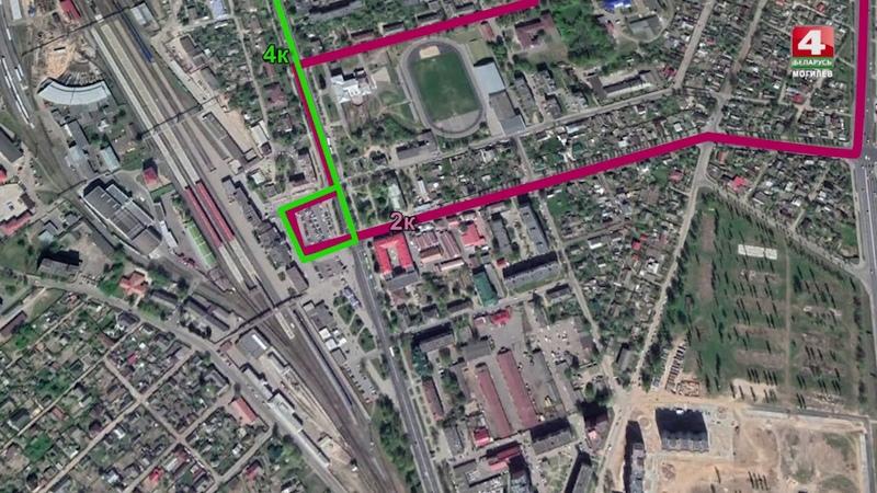 Ремонт моста, схема движения транспорта, Могилев [БЕЛАРУСЬ 4| Могилев]