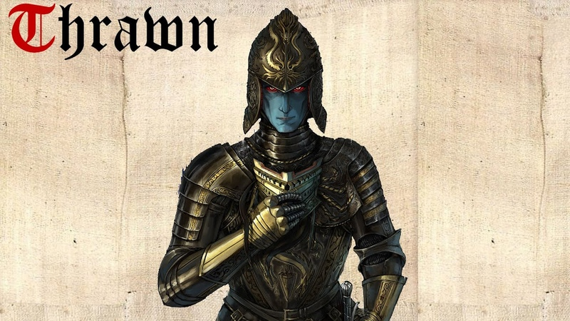 Star Wars Grand Admiral Thrawn Theme | EPIC MEDIEVAL STYLE