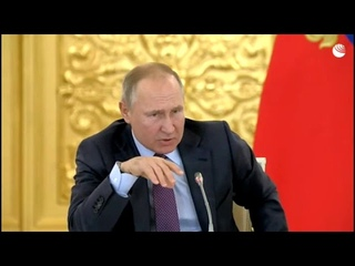 """Путин: """"Не было никаких русских до  9 века"""" речь на заседании по правам человека"""