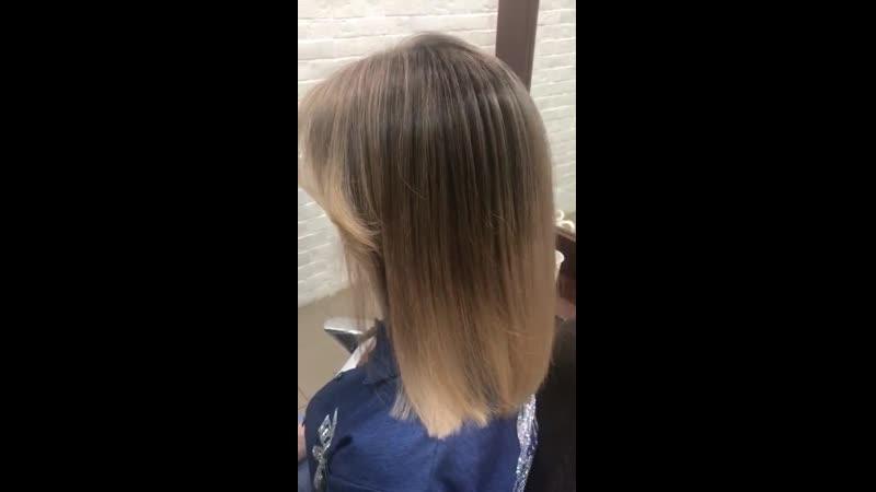 Оформление волос средней длины
