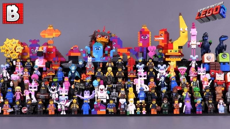 Every LEGO Movie 2 Minifigure Ever Made