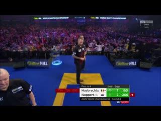 Kim Huybrechts vs Danny Noppert (PDC World Darts Championship 2020 / Round 3)
