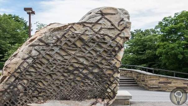 """""""Вафельный камень"""" - о древнем камне очень странной формы, обнаруженном в США"""
