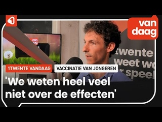 Huisarts Bart van Tienen over zorgen om vaccinatie van jongeren