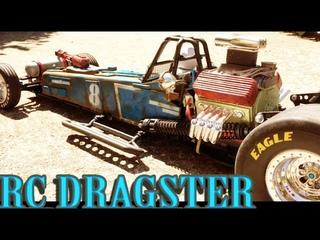 RC Post Apocalyptic TRAXXAS FUNNY CAR (build)