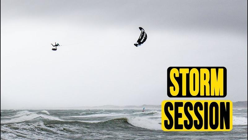 Gusty wind and Kiteloops Steven Akkersdijk