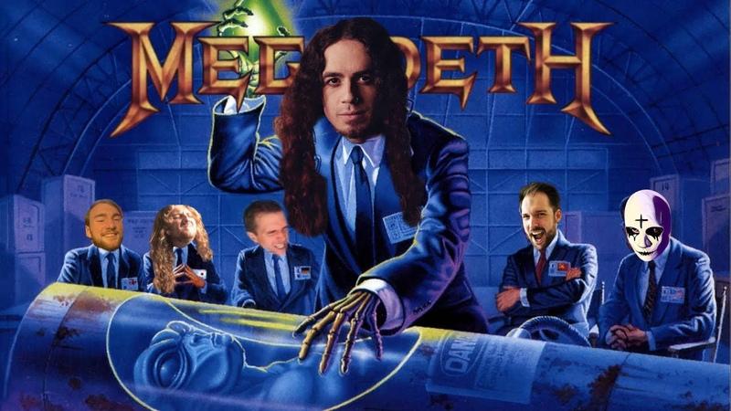 MEGADETH Take No Prisoners Cover 30th Anniversary 2020