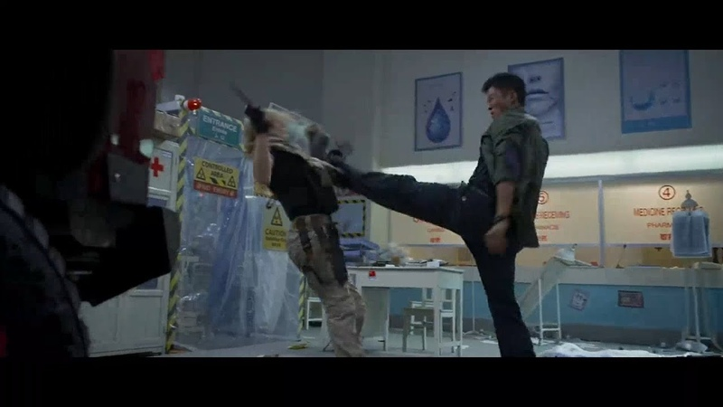 Wolf Warrior 2 Hospital Fight Previs Wu Jing