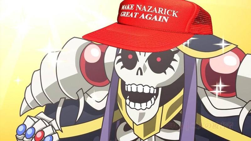 Что этот Повелитель себе позволяет Overlord аниме