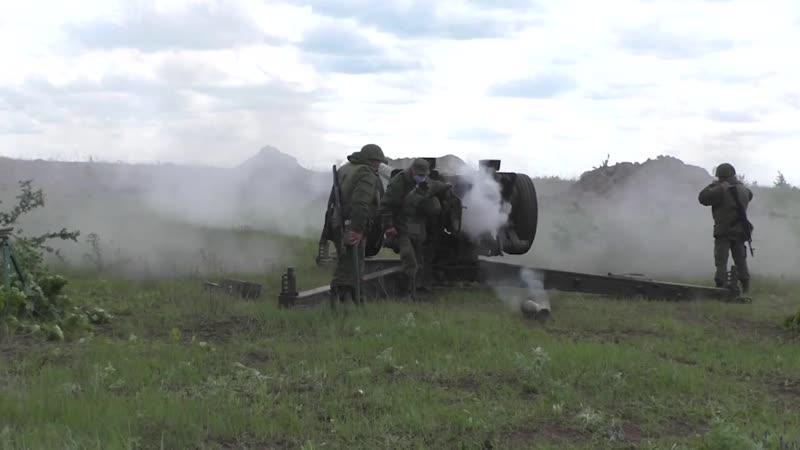 Боевая готовность в ДНР Удары в самообороне Служу Республике