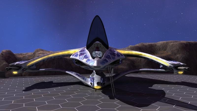 Babylon 5 Hybrid Fighter Test Animation Montage