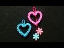 Gantungan kunci love,tali kur,macrame key chain,hati,heart,valentine,cinta,pelangi shop