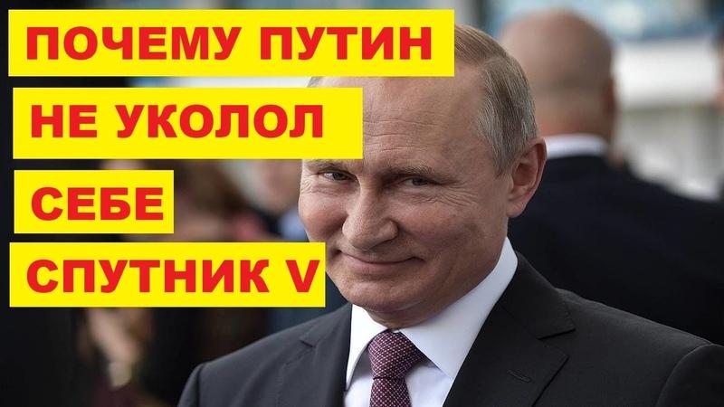Президент РФ Владимир Путин ещё не привился от коронавируса   Новости Сегодня России Мира