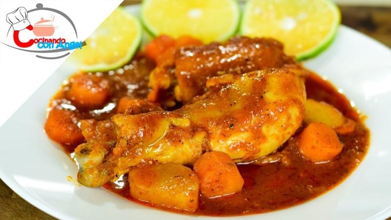 Pollo a la Naranja y Chipotle Mejorado