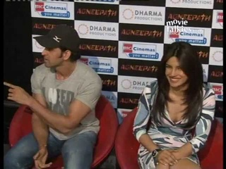 Hrithik Roshan teases a female media person about his 'Agneepath' Kissing Scene