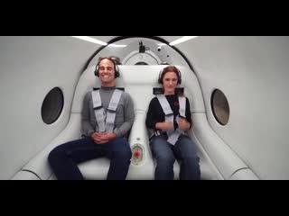 Hyperloop впервые испытали с пассажирами на борту [NR]