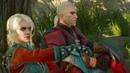 Wiedźmin 3: Krew i Wino - Wiedźminka Ciri odwiedza Geralta - Ukryta Scena
