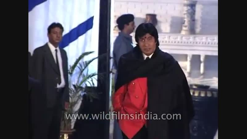 Its another commercial mainstream escapist cinema says Big B at the muhurat