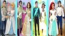 DISNEY Princess Wedding doll Set Cinderella Rapunzel Tiana Ariel | C Kavala