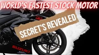 Moore Mafia's World's Fastest Stock Motor Suzuki 2020 GSXR 1000 Bike Secret's REVEALED