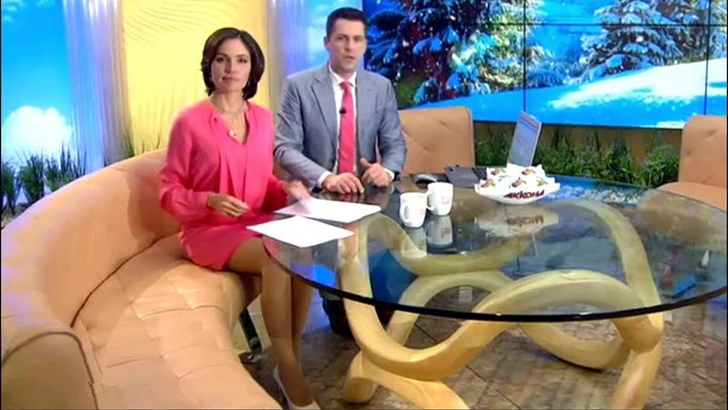 Анастасия Чернобровина Утро России Эфир от 19 01 2016