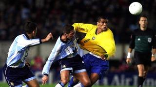Argentina 2x1 Brasil -  Eliminatórias Copa 2002 - 15º rodada [05/09/2001]