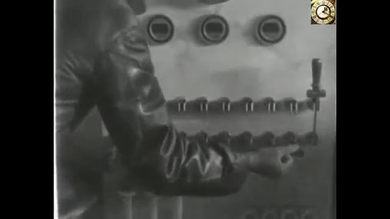 Аэропоезд Монорельс 1933 год Москва Парк им М Горького
