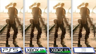 Metro Exodus: Enhanced Edition | PS5 - Xbox Series S|X - PC | Graphics Comparison & FPS