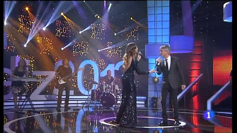Sergio Dalma y Leire Martínez - La cosa más bella [Gala Nochevieja 2012, TVE]