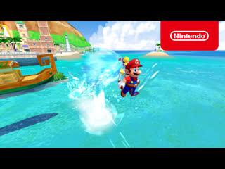 Super Mario 3D All-Stars — Super Mario Sunshine на Nintendo Switch