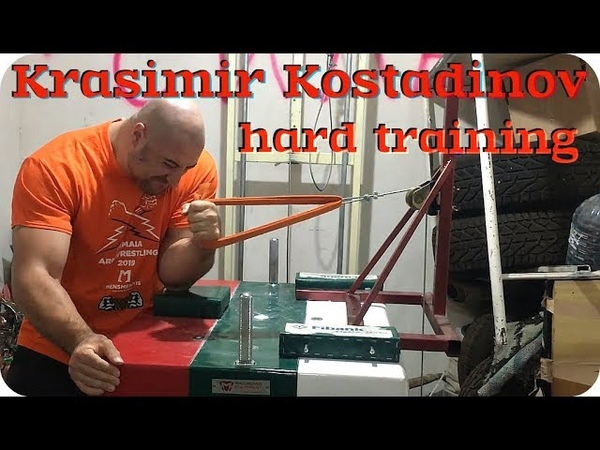 ★ Krasimir Kostadinov ★ hard training ★ редкие кадры тренировки