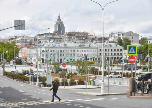 Пропускной режим в Москве продлен до 14 июня включительно