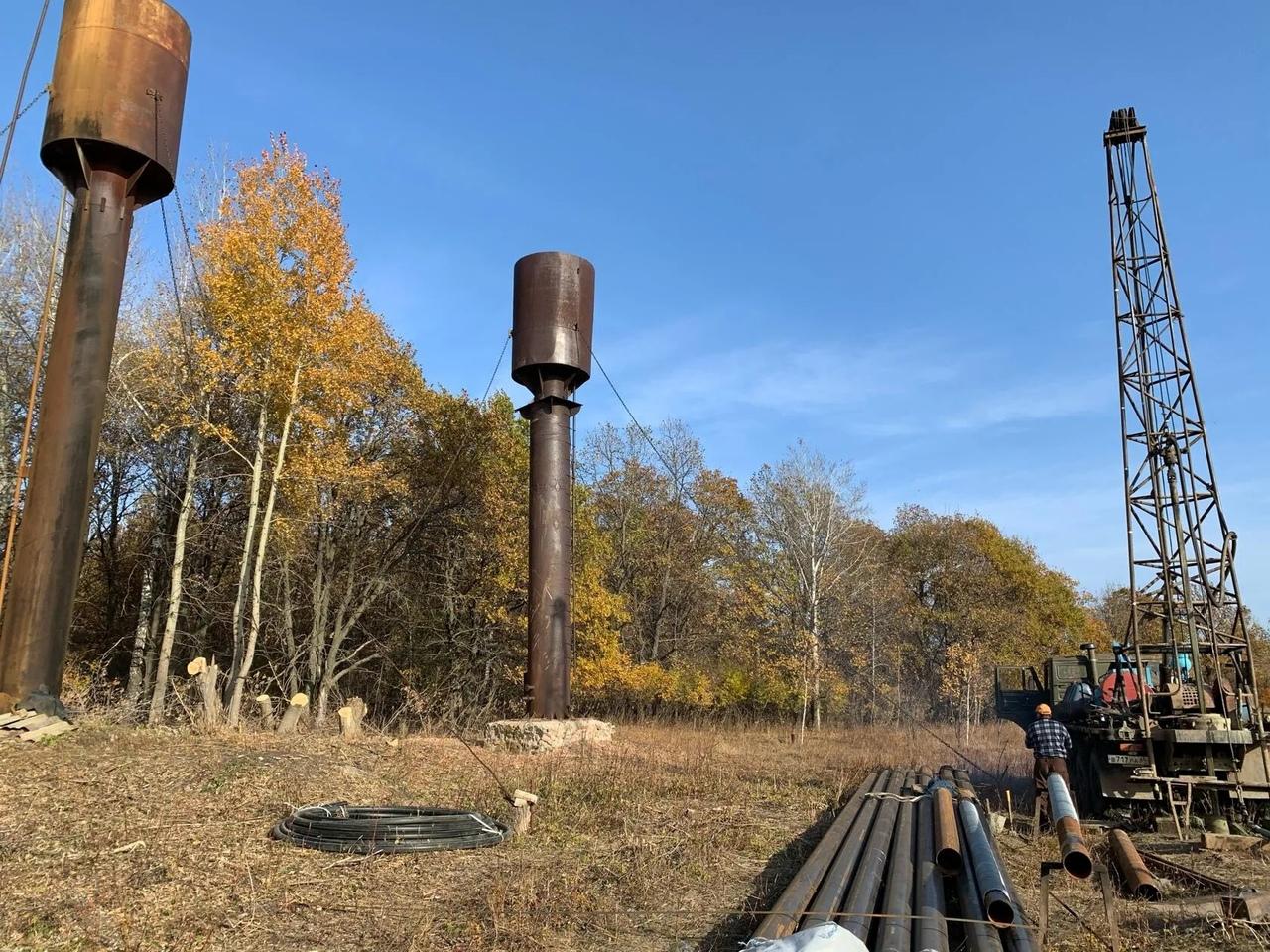 В селе Ножкино идут работы по реализации проекта в рамках программы инициативного бюджетирования