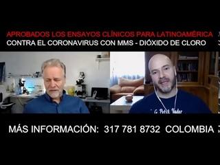 Aprobados los ensayos Clínicos para LatinoAmerica Contra Corona-Virus con MMS - Dióxido de Cloro.
