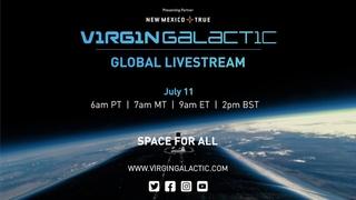 WATCH LIVE: Virgin Galactic Unity 22 Spaceflight Livestream