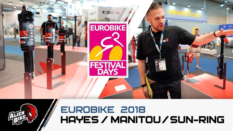EuroBike 2018 Hayes Components Manitou SunRing