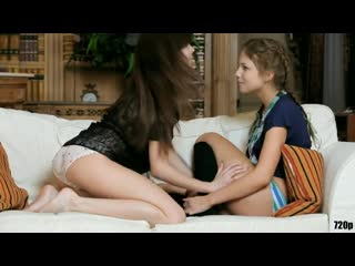Britney S And Momoko - Sexy Lesbian Kiss - First Time