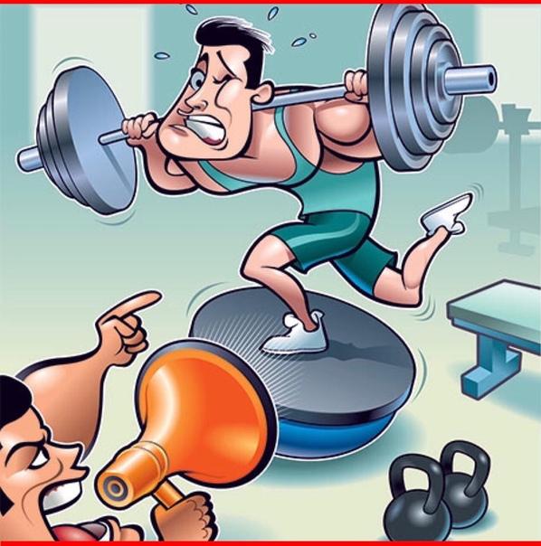 С днем тренера картинки прикольные фитнес
