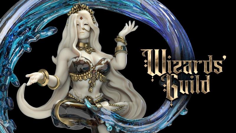WIZARDS' GUILD August 2021 Release 3DPrinting RagingHeroes