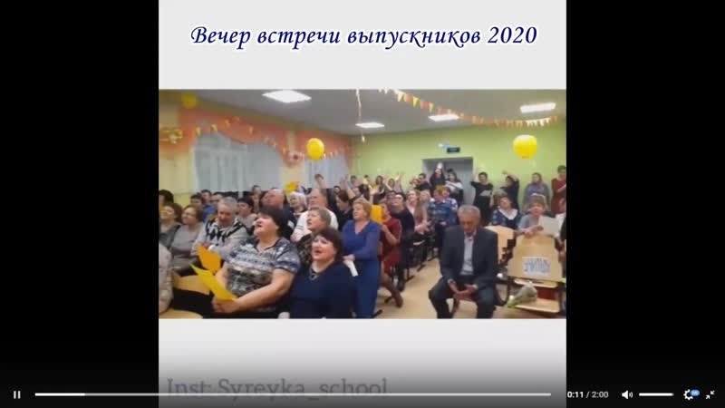 Встреча выпускников 2020 01 02 2020