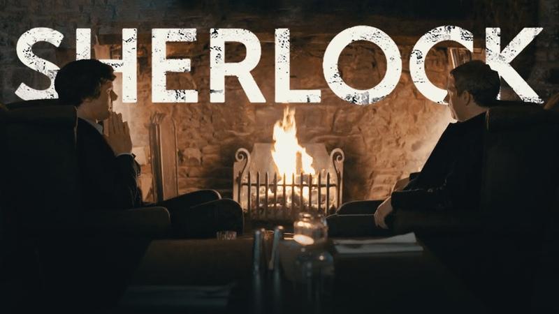 Sherlock Watson ◈ FOCUS SESSION Mystery Solving Fireplace Rain ◈Sherlock inspired AMBIENCE ASMR