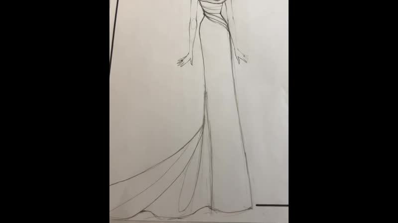 Видео Behind the scenes in the atelier creating Priyanka's golden globe gown! • cristinaottaviano смотреть онлайн