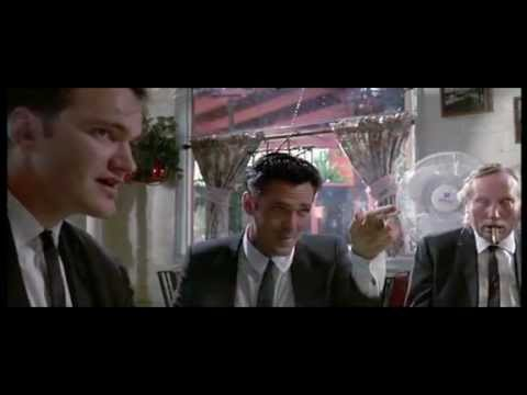 Reservoir Dogs by Quentin Tarantino 1992 Opening scene